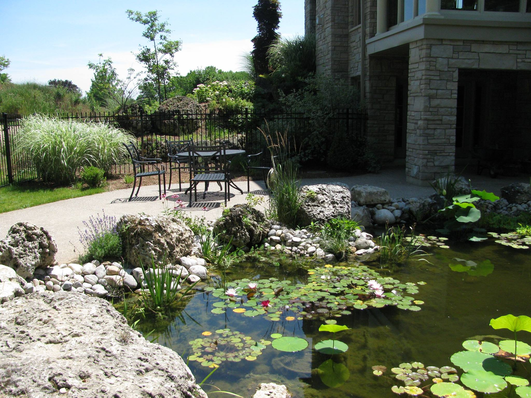 pond construction in london ontario