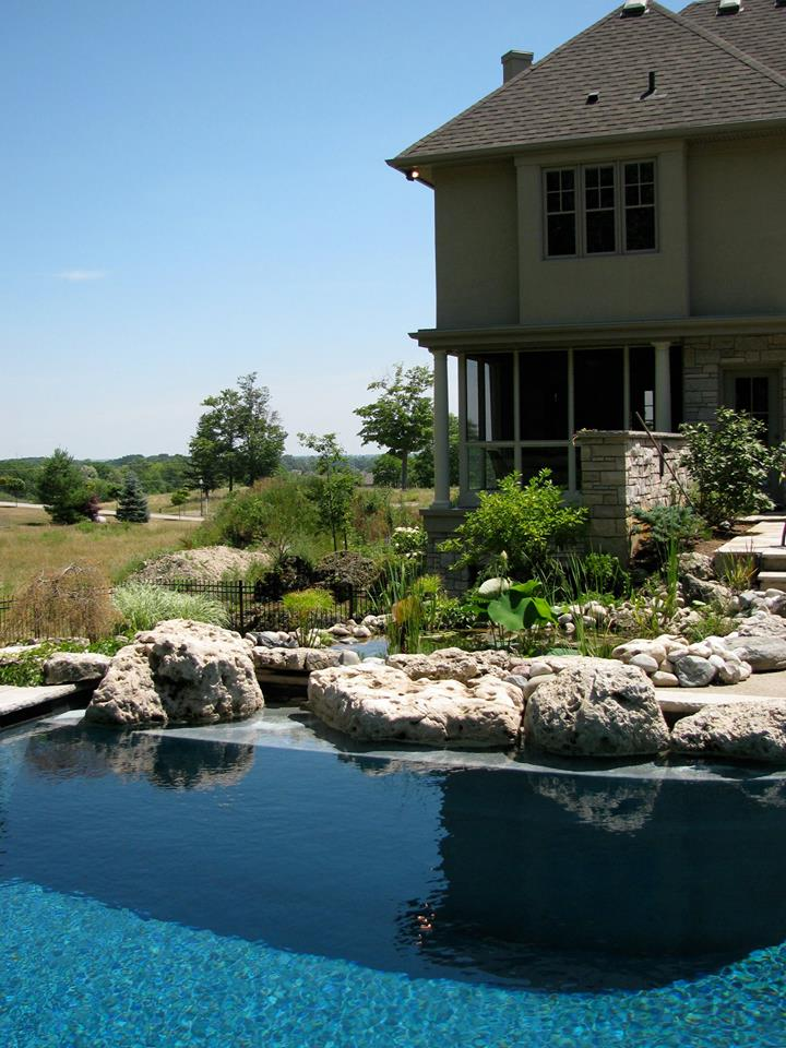 pond and pool landscaping construction