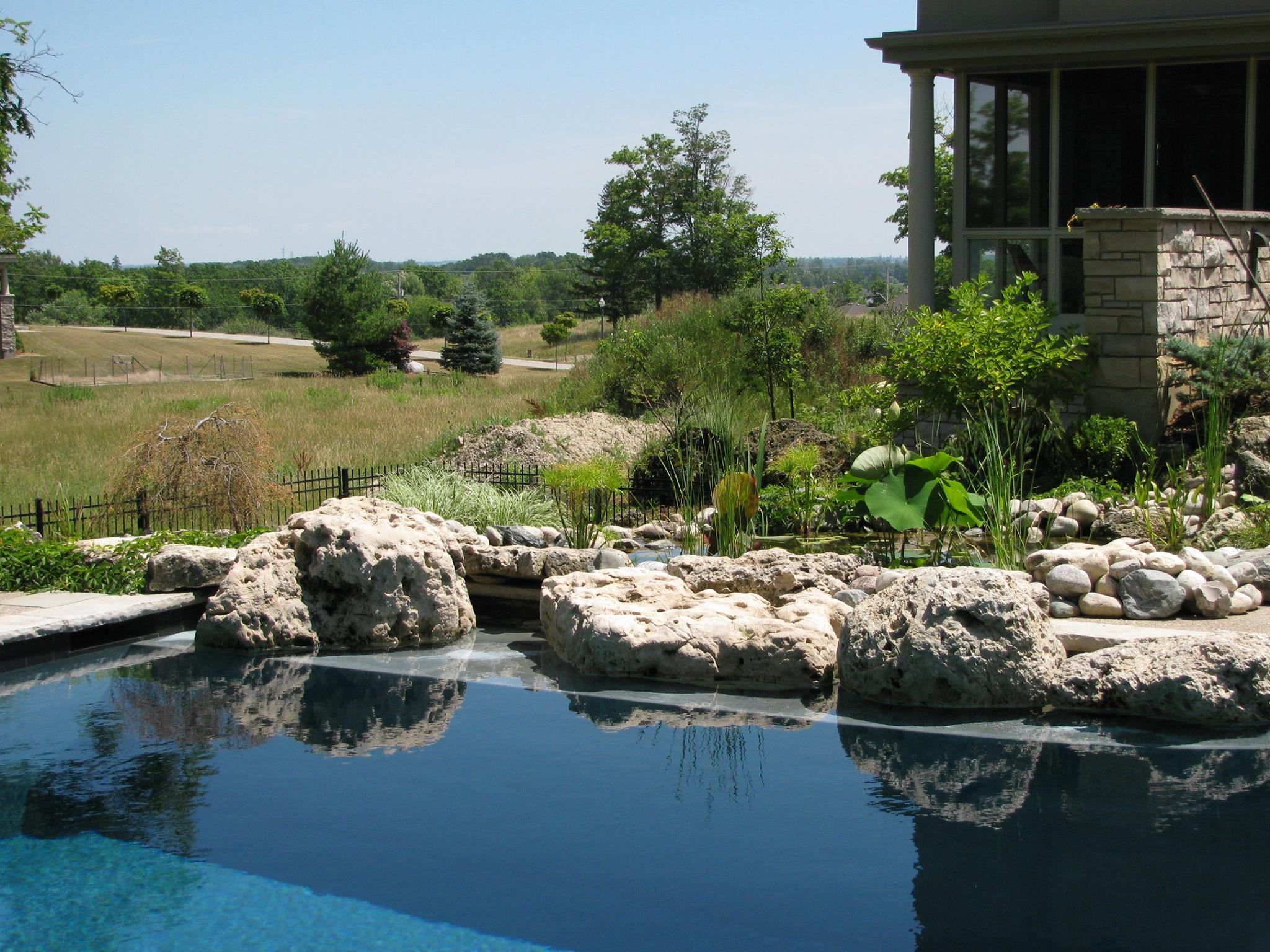 london ontario landscaping and pond construction