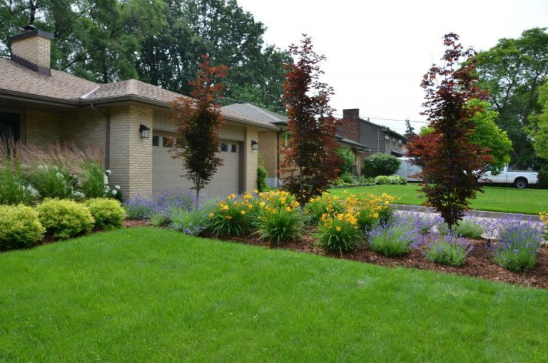 front lawn garden in london ontario