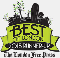 London Free Press Best of London Award Runner-Up 2015