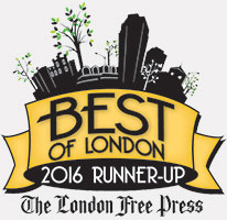 London Free Press Best of London Award Runner-Up 2016