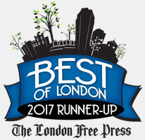 London Free Press Best of London Award Runner-Up 2017