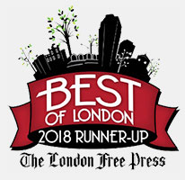 London Free Press Best of London Award Runner-Up 2018